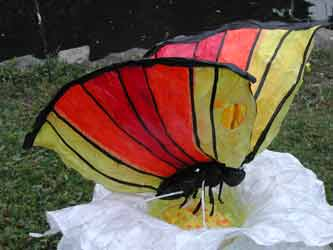 Butterfly at the 2008 Luminara