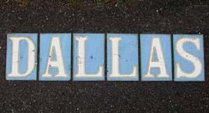 Ceramic Tiles in Victoria City Sidewalks
